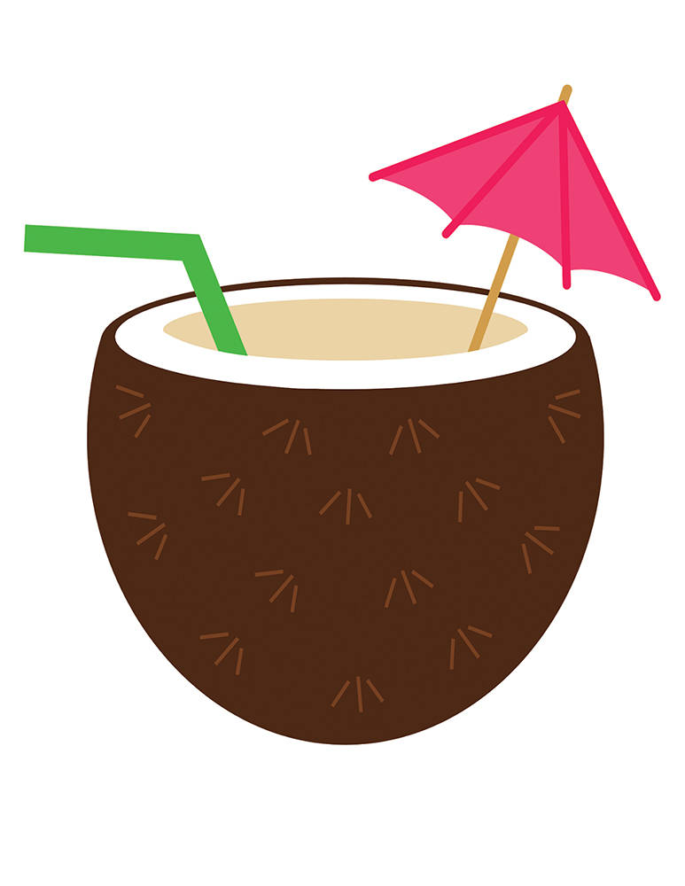 Drink clipart transparent Coconut This Transparent a and