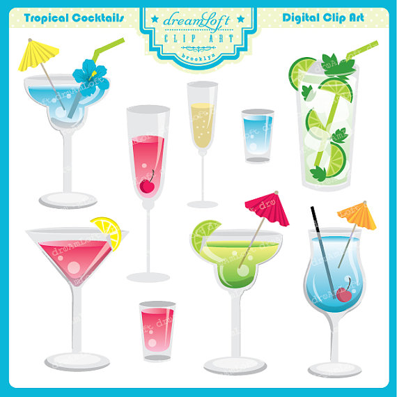 Beverage clipart party drink Drink themes invitations Clipart