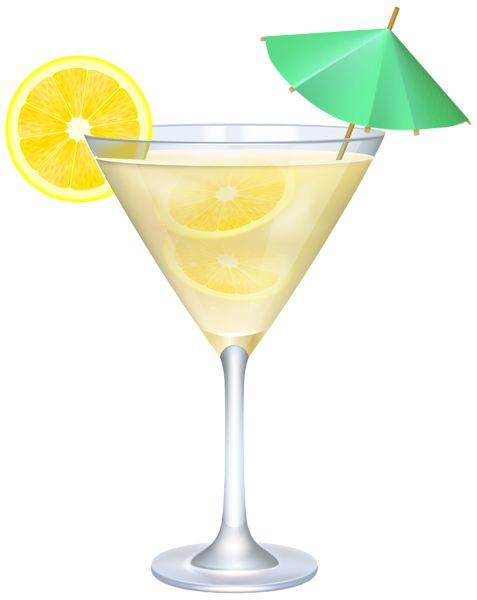 Caribbean clipart umbrella drink Cocktail Lemon images Clip Image