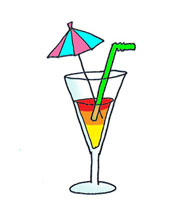 Summer clipart summer drink #1
