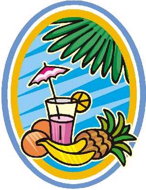 Resort clipart tropical island Island vacation pretty Labor Umbrella