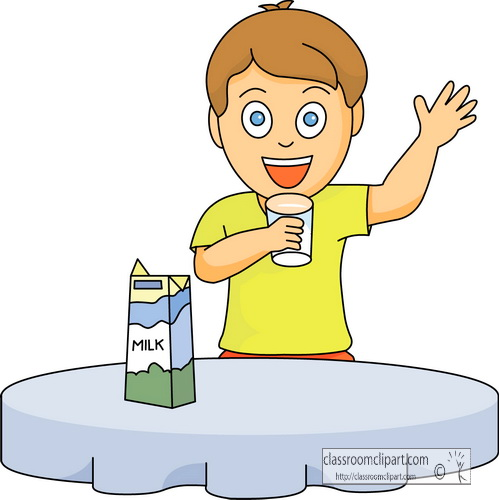 Drink clipart kid drink Clip Savoronmorehead milk Drinking Milk