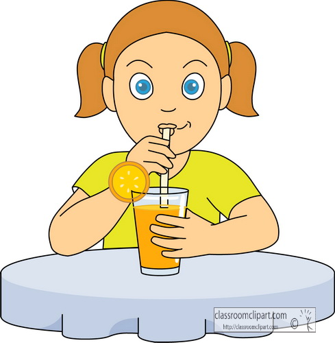 Drinking clipart #3