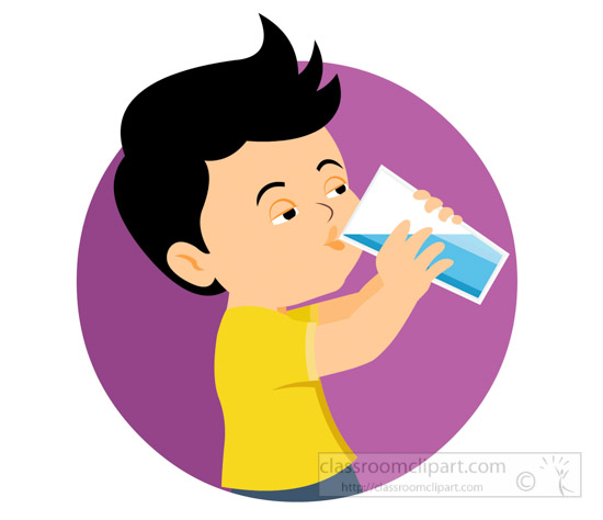 Boy clipart drink water Clipart Free Clipart Clip