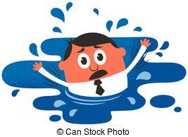Drown clipart  illustration Illustrations Art Clip