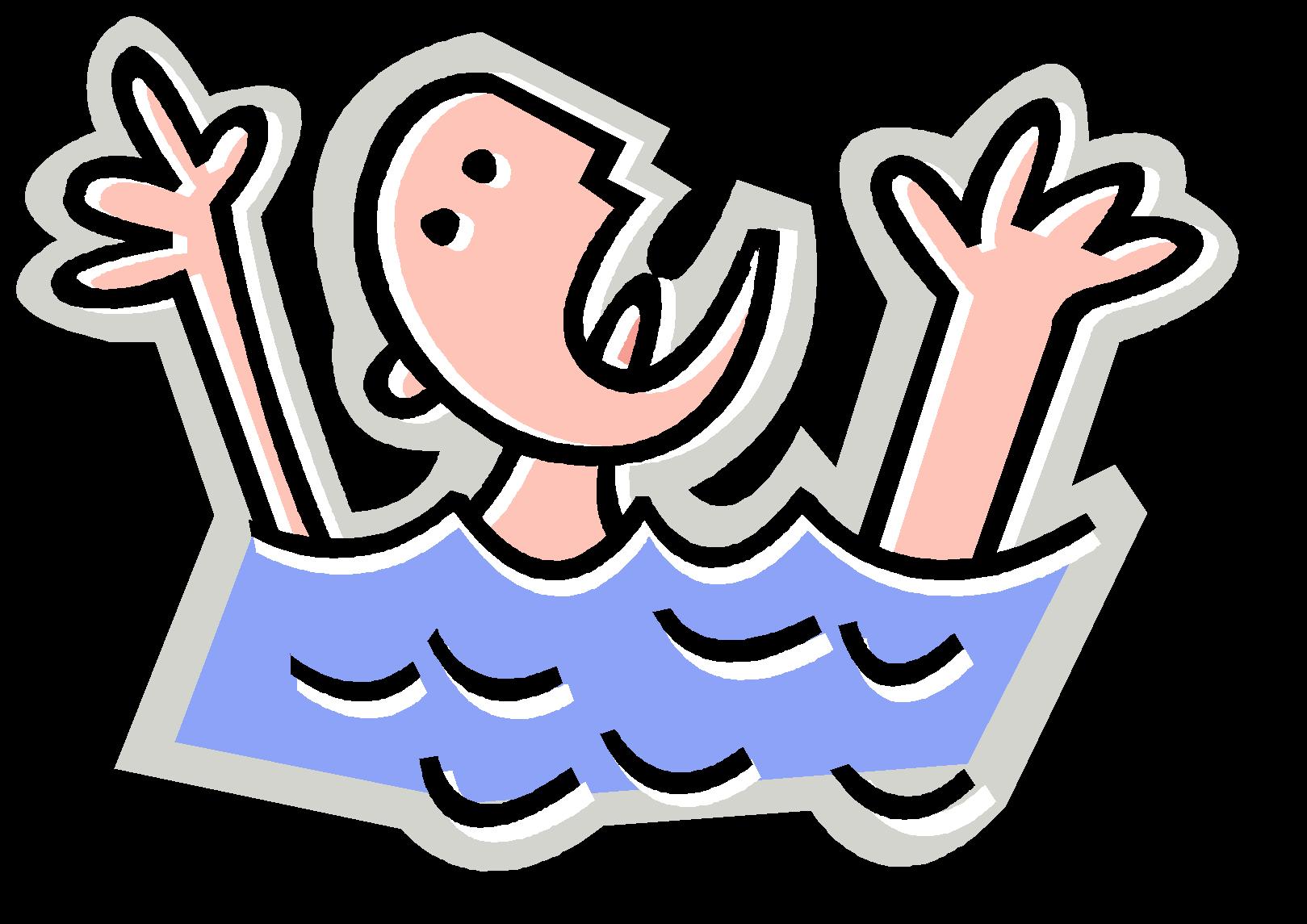 Drown clipart Swim Clipart Rip Rip Clipart – Art