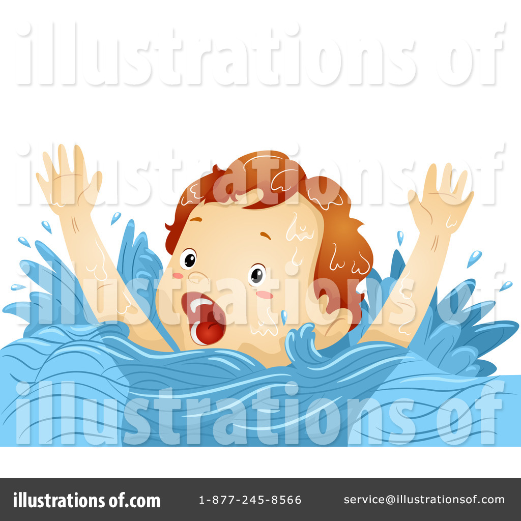Drowning clipart #1228595 Design Free Illustration Royalty
