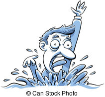 Drowning clipart Stock Drowning Drowning Illustrations