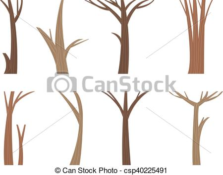 Timber clipart Wood Vector set trunk vector