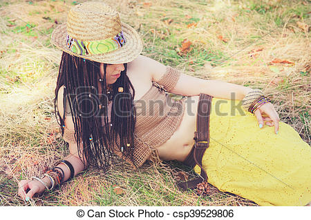 Straw Hat clipart yellow hat Dreadlocks top park outdoor Fashion