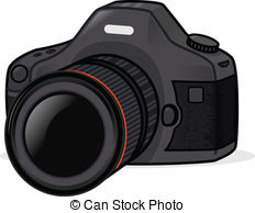 Dslr clipart Vector 1 dslr Photo vector