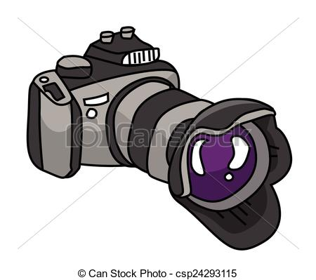 Dslr clipart camera lense Search dslr Clip Vector csp24293115