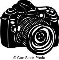 Dslr clipart back Illustration camera Clipart digital