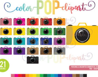 Dslr clipart photography film Planner Camara clipart Planner Sticker