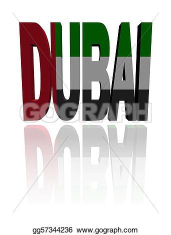 Dubai clipart Flag Stock flag  gg57344236