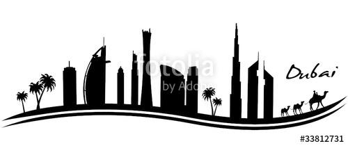 Dubai clipart And on files vector Dubai