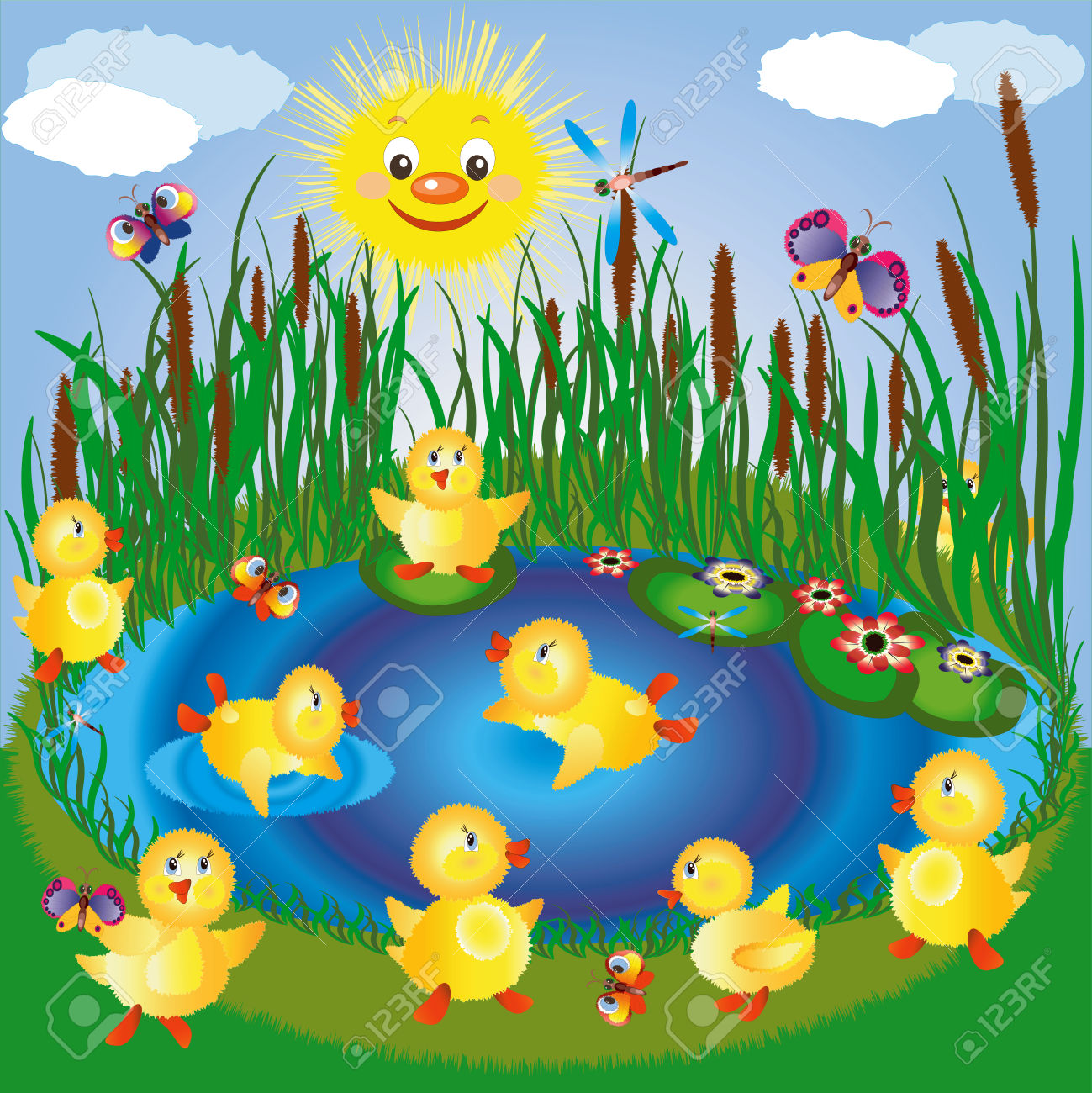 Game clipart duck pond #3