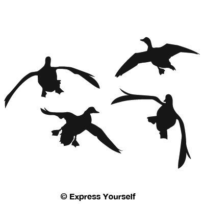 Hunting clipart waterfowl #12