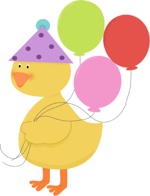 Animl clipart birthday Party Birthday Party Clip Duck