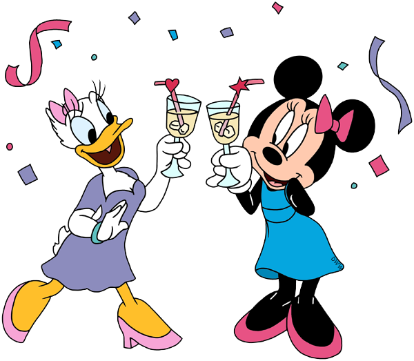 Birthday clipart goofy And toasting Disney Minnie Disney