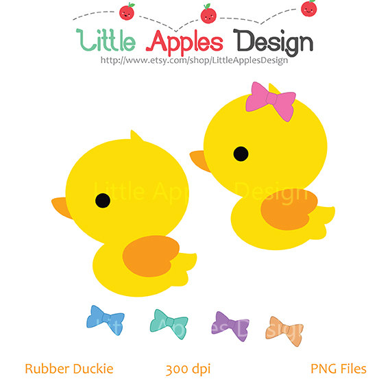Bubble clipart duck / Duck Etsy / Duck