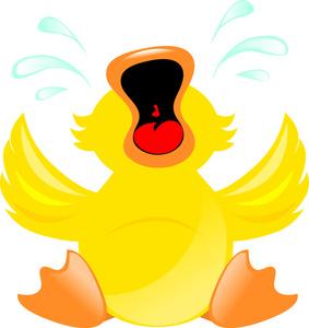 Sad clipart duckling #2