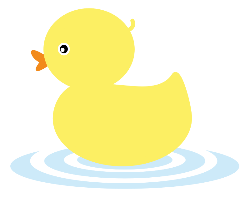 Duckling clipart Duck icon  duck Duckling