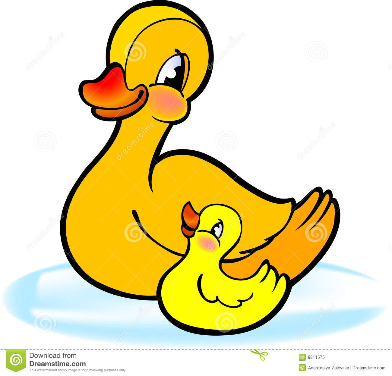 Duckling clipart #2