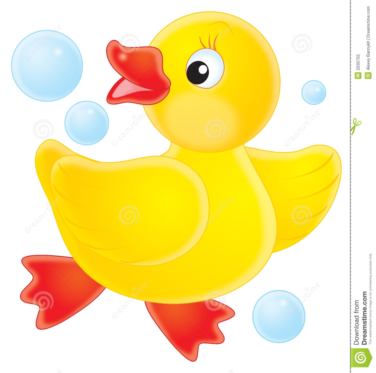 Duckling clipart #9