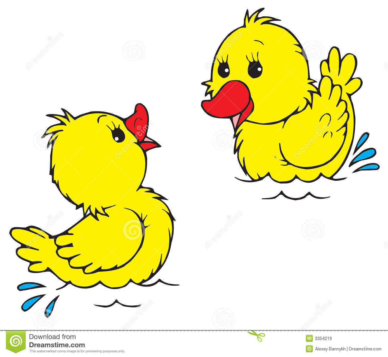 Duckling clipart Clip duck  clipart Duckling
