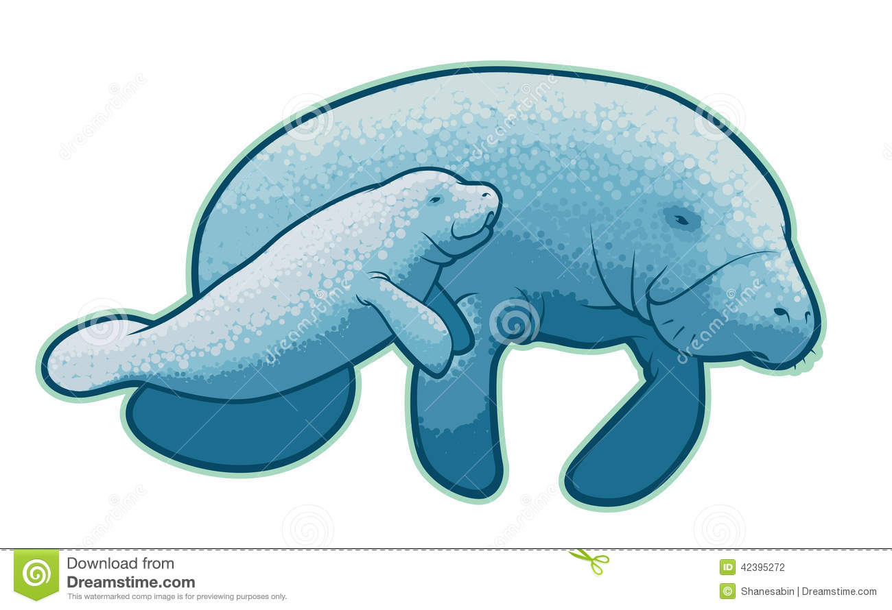 Dugong clipart Clipart Images Free Panda manatee%20clipart%20