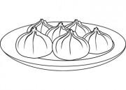 Dumpling clipart Dumplings 180x129  Clipart White