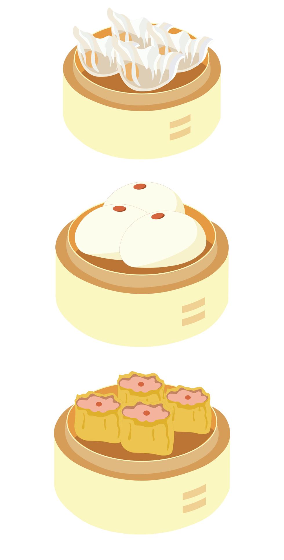 Dumpling clipart siomai Shanghai & Siopao Journey Portfolio