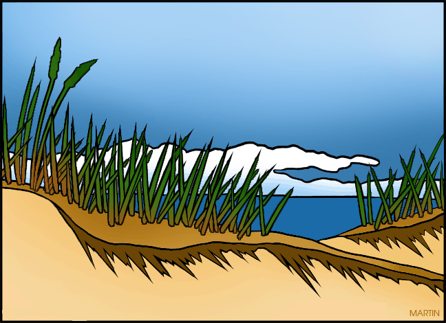 Dune clipart #13