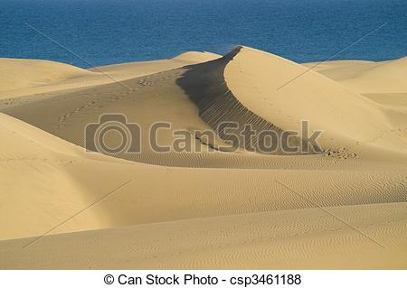 Dune clipart Sea of a of on