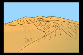 Dune clipart #1