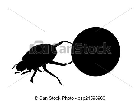 Dung Beetle clipart #3