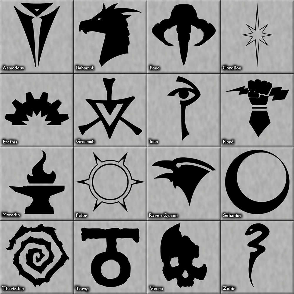 Dungeons & Dragons clipart asmodeus symbol The Pantheon The The Walk