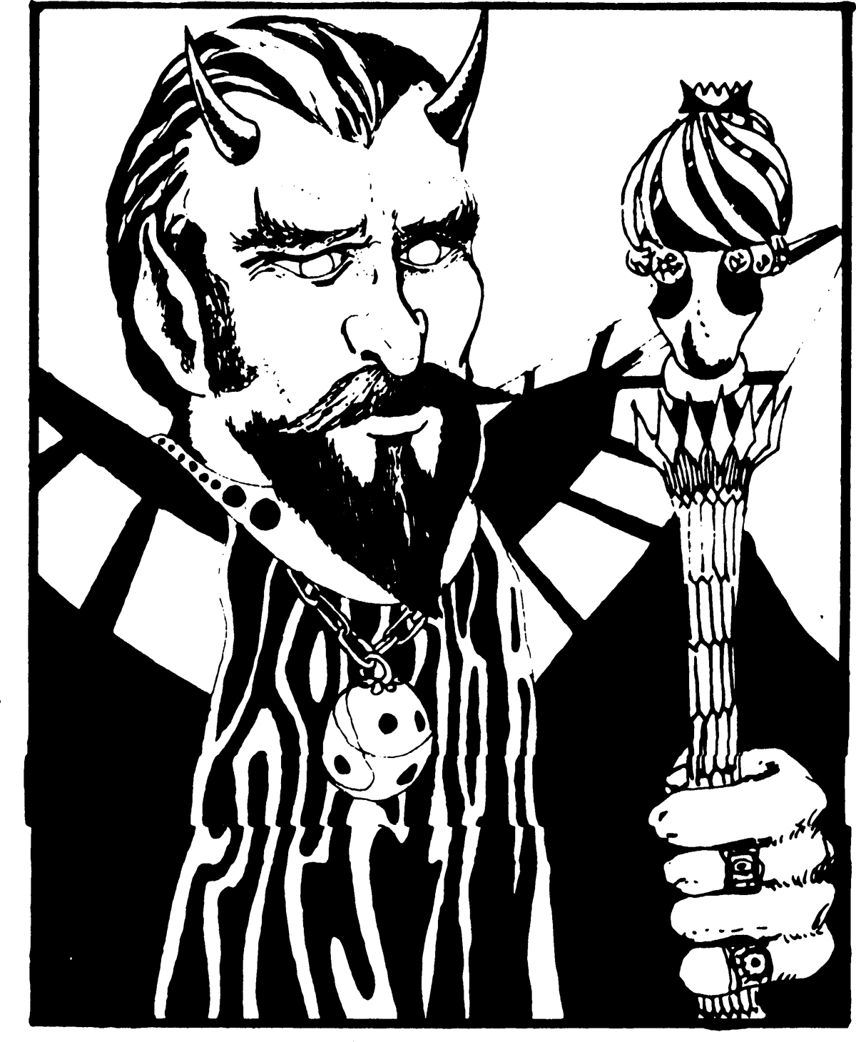 Dungeons & Dragons clipart asmodeus symbol 1st (from Manual)  D&D