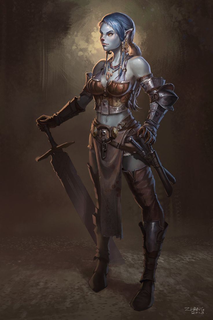 Dungeons & Dragons clipart barbarian female Female Dungeons clothing Pinterest 282
