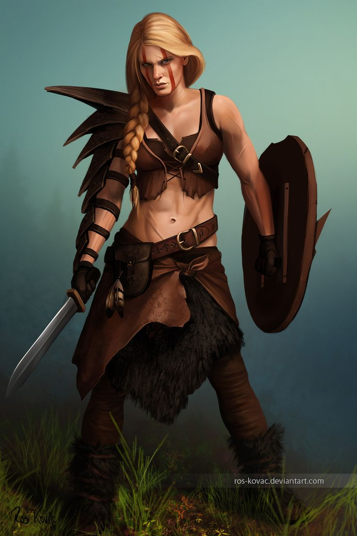 Dungeons & Dragons clipart barbarian female RPG on Pinterest ideas 25+