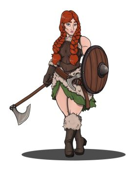 Dungeons & Dragons clipart barbarian female CandyKappa CandyKappa on by CandyKappa