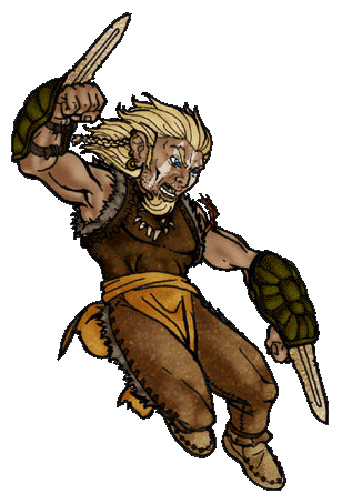 Dungeons & Dragons clipart barbarian female  Dragons and Advanced Dungeons