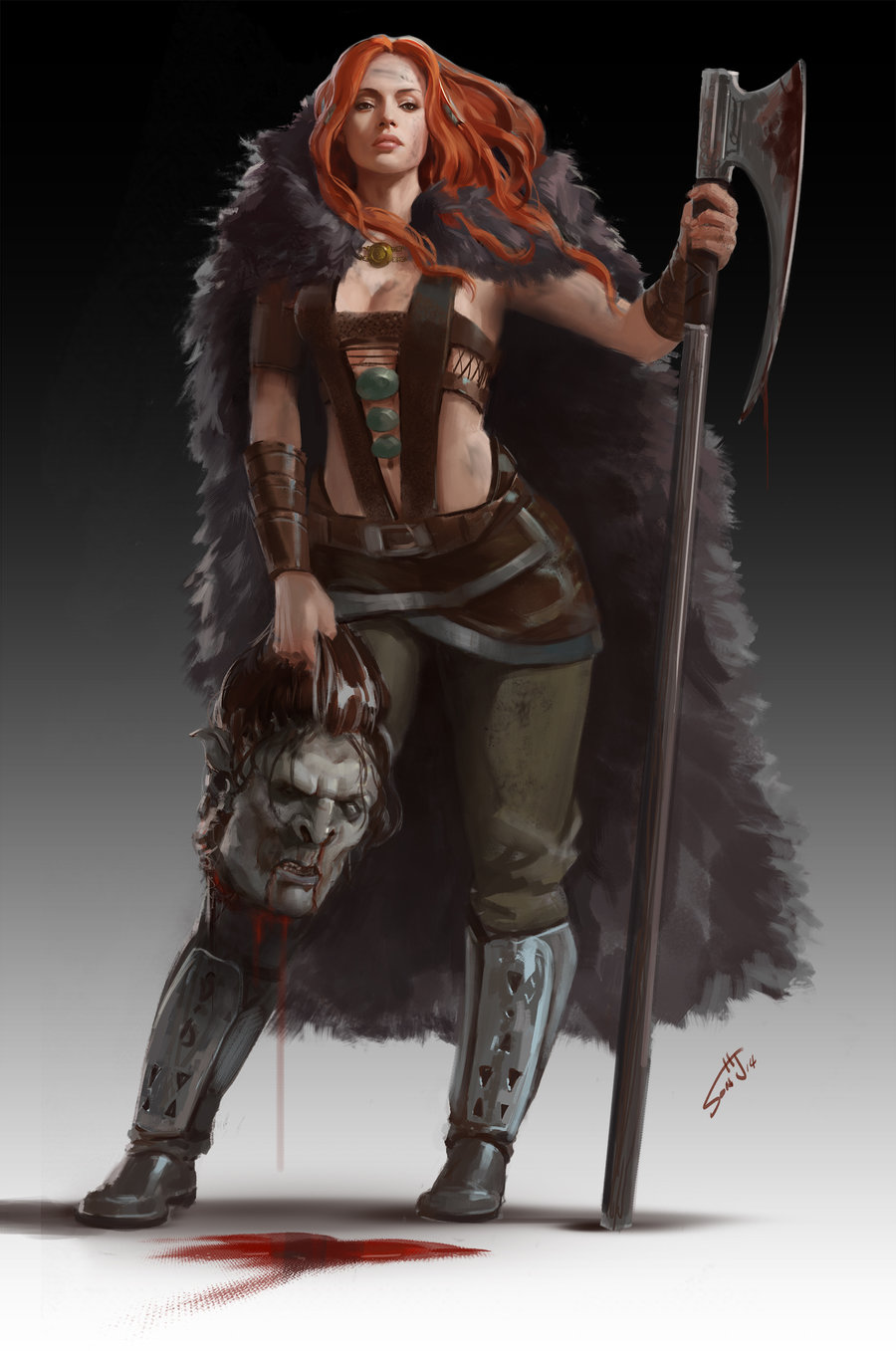 Dungeons & Dragons clipart barbarian female Thread:  Post: Dreamboats Dungeons
