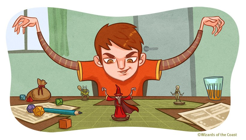 Dungeons & Dragons clipart different #8