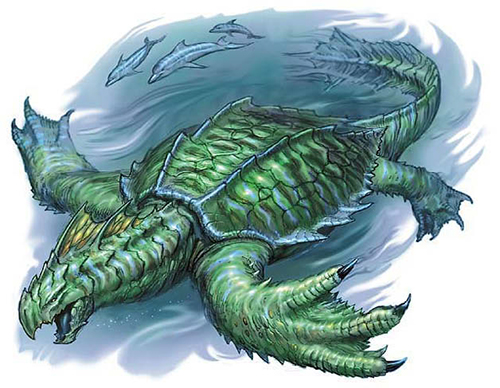 Dungeons & Dragons clipart dragon turtle #1