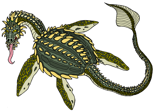 Dungeons & Dragons clipart dragon turtle #5