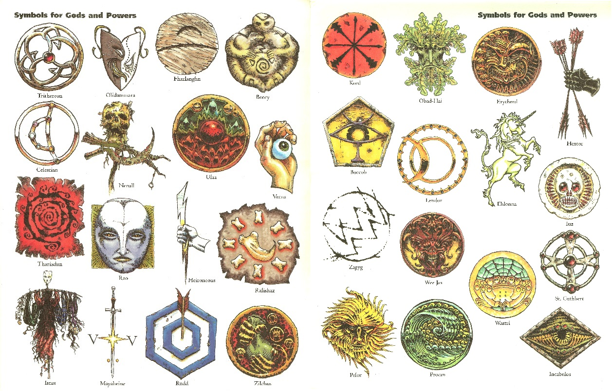 Dungeons & Dragons clipart erathis Gods Lands Obsidian the of