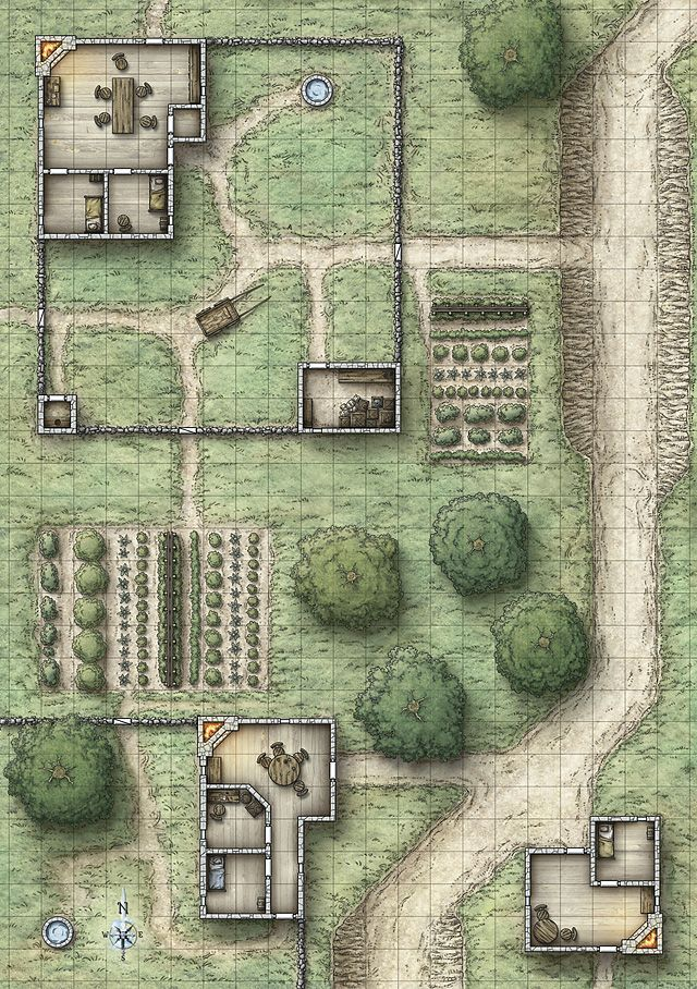 Dungeons & Dragons clipart farm map Best on map Farm jpg