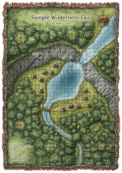 Dungeons & Dragons clipart farm map On best Map D&D/RPG's ~
